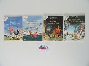 Lot de 4 livres Les p'tites poules (Qté modifiable)