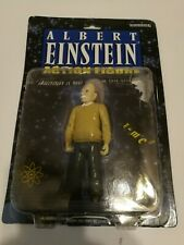 "Albert Einstein 5"" Action Figure Damaged Package Accoutrements 2003"