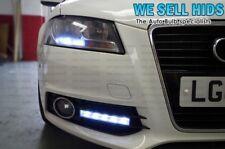 Audi style haute puissance 5 led feux de jour drl 6000k blanc unité gril