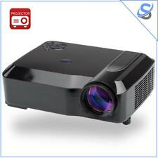 3800 Lumens HD LED Projector 1280x768 DPI Resolution 5.8 Inch LCD 2000:1 Black