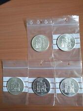 lot 5 pièces argent 50 francs Hercule TTB/SUP