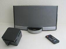 Bose SoundDock Portable Digital Music System (Black) - Charger - Remote - Nice