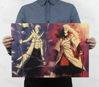 Poster Retro Naruto / classic animation kraft paper posters Bar decorative