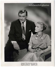 Clark Gable & Eleanor Parker, The King and 4 Queens, PROMO-Photo, da 1956