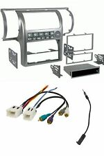 Car Stereo Radio Install Dash Kit/Wire/Ant Adapter Combo for 03-04 Infiniti G35
