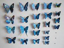 3D Life-Like Butterfly Wall Stickers/Magnets - Fast, Free Shipping!