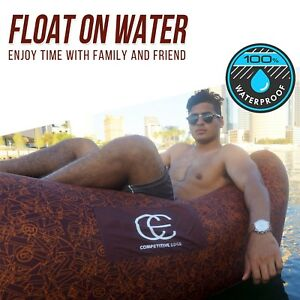 inflatable air lounger couch Lounger: Air Sofa Chair, Nylon, Couch,