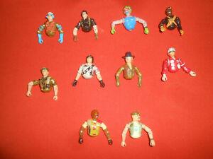 G.I.JOE:  X  10 Bodys pieces ,   ( Parts Lot)  '' Hasbro ''
