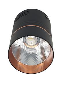 Decorative Ceiling Surface Mount Downlight Spotlight Copper & Matt Black 10W LED