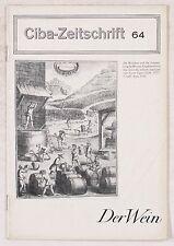 Bassermann-Jordan, F.; Vogt, E. & Sarrazin, H.: Der Wein.  Ciba Zeitschrift Wehr