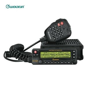 Wouxun KG-950P Quad Band Cross Truck Mobile Car Radio Repeater 50W Transceiver