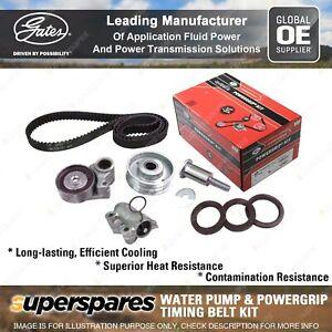 Gates Water Pump & Timing Belt Kit for Mitsubishi Outlander ZG ZH 6B31 3.0L