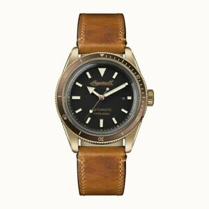 Ingersoll The Scovill Bronze Watch I05001 Brand New