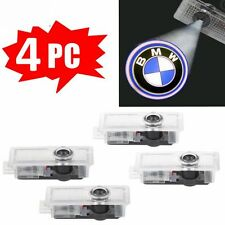 4 pc BMW LED Light Logo Projector Emblem Accessory Car Bright Lights Door Series