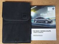 GENUINE BMW 4 SERIES COUPE F32 2013-2018 HANDBOOK OWNERS MANUAL WALLET # O-41