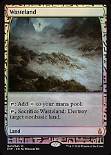 Magic MTG Zendikar Expedition Wasteland FOIL - NEAR MINT (NM) Sick Deal Pricing