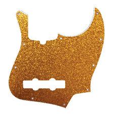 D'Andrea 4-Ply 10-Hole Jazz Bass Pickguard Gold Sparkle