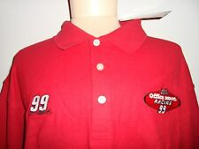 NASCAR Carl Edwards #99  POLO Shirt * Adult large / 100% Cotton    COLLECTABLE