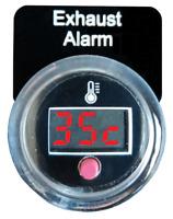 Marine Exhaust Temperature Alarm,  Gauge, Monitor, Sensor  SM010