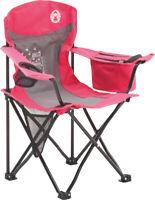 Coleman FyreFly Illumi-Bug Kids Quad Chair Pink