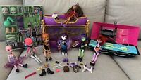 Monster High Doll Lot & Play Sets 7 Dolls Create-a-Monster Design Lab Clawdeen