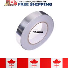 15mm x 25m Ultra Thin Aluminum Foil Tape Adhesive Heat Conduction Shielding