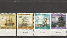 Papua New Guinea 1988 Ship's 15t, 20t,40t,60t  MNH
