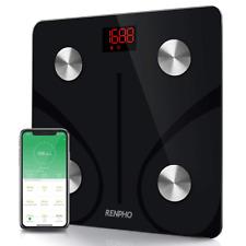 RENPHO Bluetooth Body Fat Scale FDA Approved Smart BMI Digital Bathroom Wireless