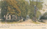 WESTBROOK CT – Main Street – Hand Colored Postcard – udb (pre 1908)