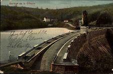 Gileppe Belgien Belgique 1908 Talsperre Barrage Stausee alte color Postkarte