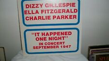 Gillespie, Parker, Ella it happened one night Nm,Vg+ Rare Beauty! Live Record