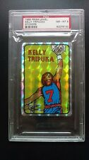 1985 Prism Jewel Stickers KELLY  TRIPUCKA   PSA 8
