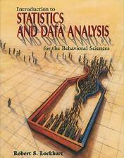 Introduction to Statistics and Data Analysis for the Behavioral Sciences, Lockha
