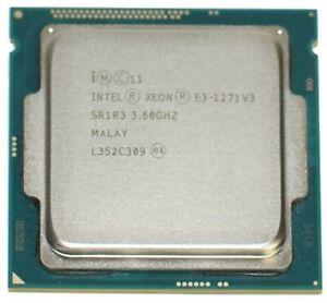 Intel Xeon E3-1271 V3 3.6GHz 8MB 5GT/s 4C/8T FCLGA 1150 CPU Processor