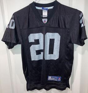 Reebok OnField NFL Oakland Raiders Darren McFadden #20 Jersey YOUTH Size M 10-12