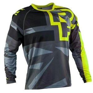 Race Face DH Jersey Enduro Mountain Bike MTB MX Dirt Freeride Long Sleeve Top