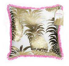 LILLY PULITZER LARGE PILLOW FLAMENCO 18 X 18 LG Indoor Outdoor Home Decor NEW