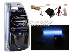 """6"""" BLUE ULTRA BRIGHT NEON LIGHT INTERIOR DASH CENTER CONSOLE FOR SAAB VOLVO"""