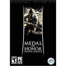 Medal Of Honor Pacific Assault Director's Cut Edition DVD PC Games Window 8 7 XP