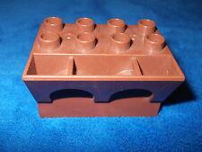 LEGO DUPLO  RITTERBURG aus 4777  + 4776 + 4779 + 4785  ZINNEN ZINN BRAUN P2