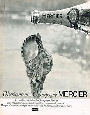 PUBLICITE   1967   MERCIER   champagne