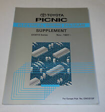 Workshop Manual Electric / Werkstatthandbuch Elektrik Toyota Picnic St. 11/1997