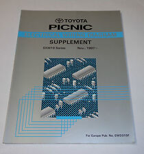 Workshop Manual Electric / Werkstatthandbuch Elektrik Toyota Picnic St. 11/1997