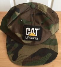 Cat Lift Trucks Camouflage Foam Tonkin Snap Back Catapillar Camo