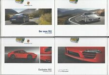 Porsche 911 Carrera Typ 991 Prospekt Brochure  05 - 2011 -124 Seiten +Ecklusive