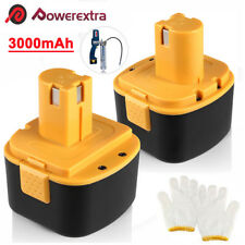 2x 12V Battery For Lincoln PowerLuber 12 Volt Grease Gun LIN-1201 1200 1240 1242