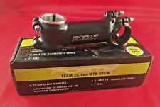 Forte Team MTB Stem 90mm 7 degree rise 25.4 Clamp