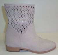 Michael Kors Size 8 M SUNNY Cement Suede Bootie Ankle Boots New Womens Shoes
