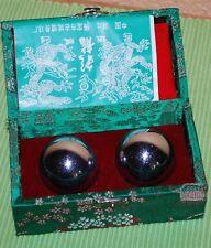 Klangkugeln aus China mit Gebrauchsanweisung in englisch und chinesisch