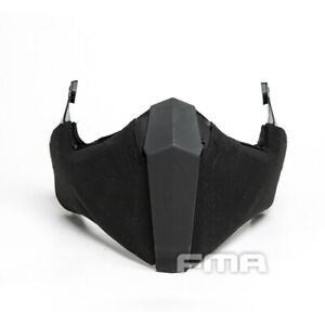 FMA Airsoft Mask Half Face Mask Gunsight Mandible For Fast/High Cut/MT Helmet